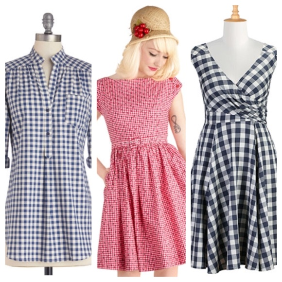 Left: Modcloth//Middle: Modcloth//Right:eShakti